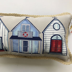Nautical Beach Cottage Pillow